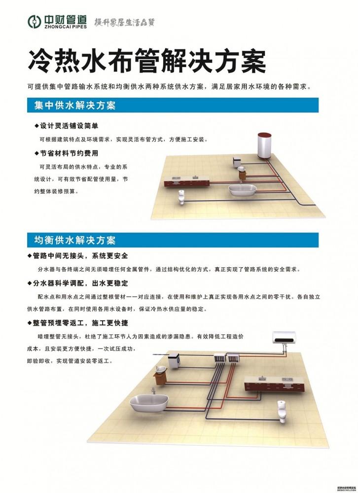 管件 给水管 > ppr家装健康给水管   商品信息 品牌:中财管道 产地:浙