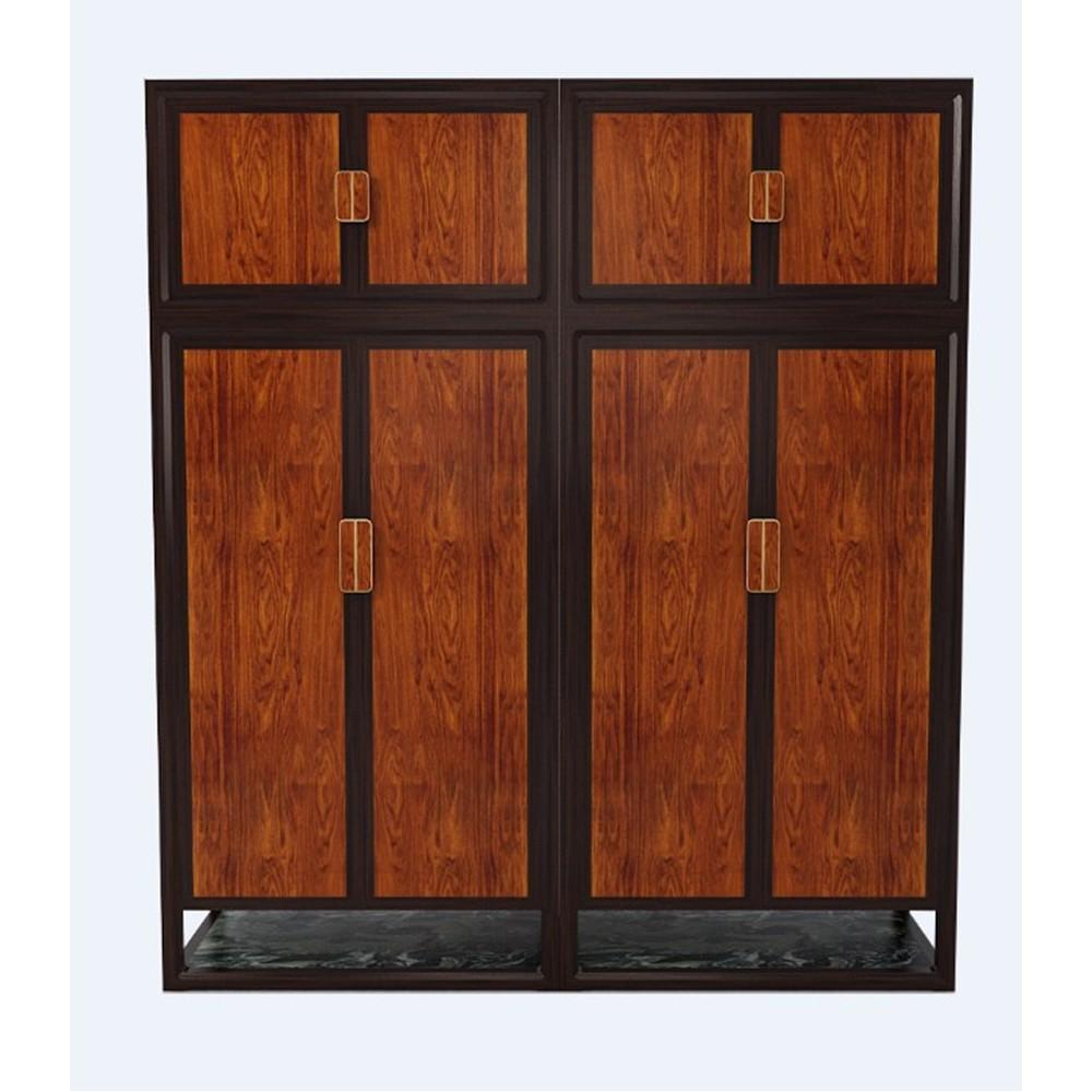 苏梨现代新中式红木家具 忆江南衣柜
