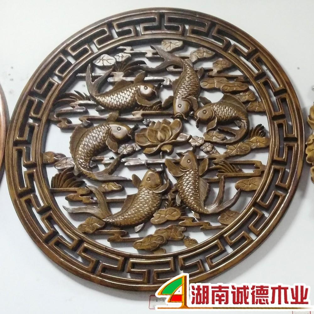 木雕铜钱图片大全